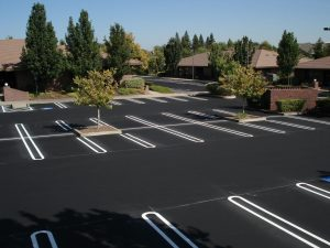 New Parking Lot Paving job completed in Hanover, Virginia